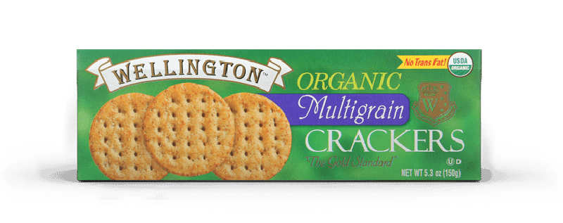 Organic multigrain water crackers