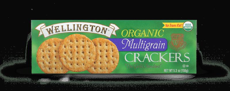 Organic multigrain water crackers