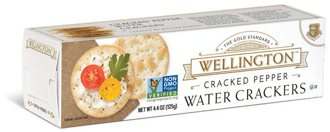 Cracked pepper water crackers>