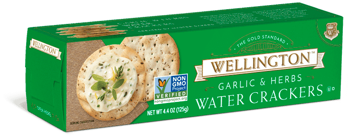 Garlic & Herbs Water Crackers