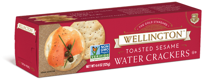 Toasted Sesame Water Crackers>