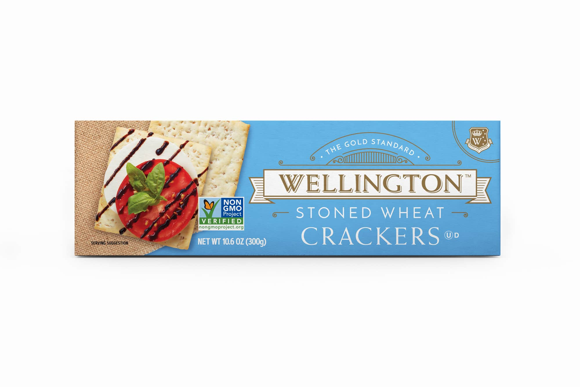 Stoned wheat crackers