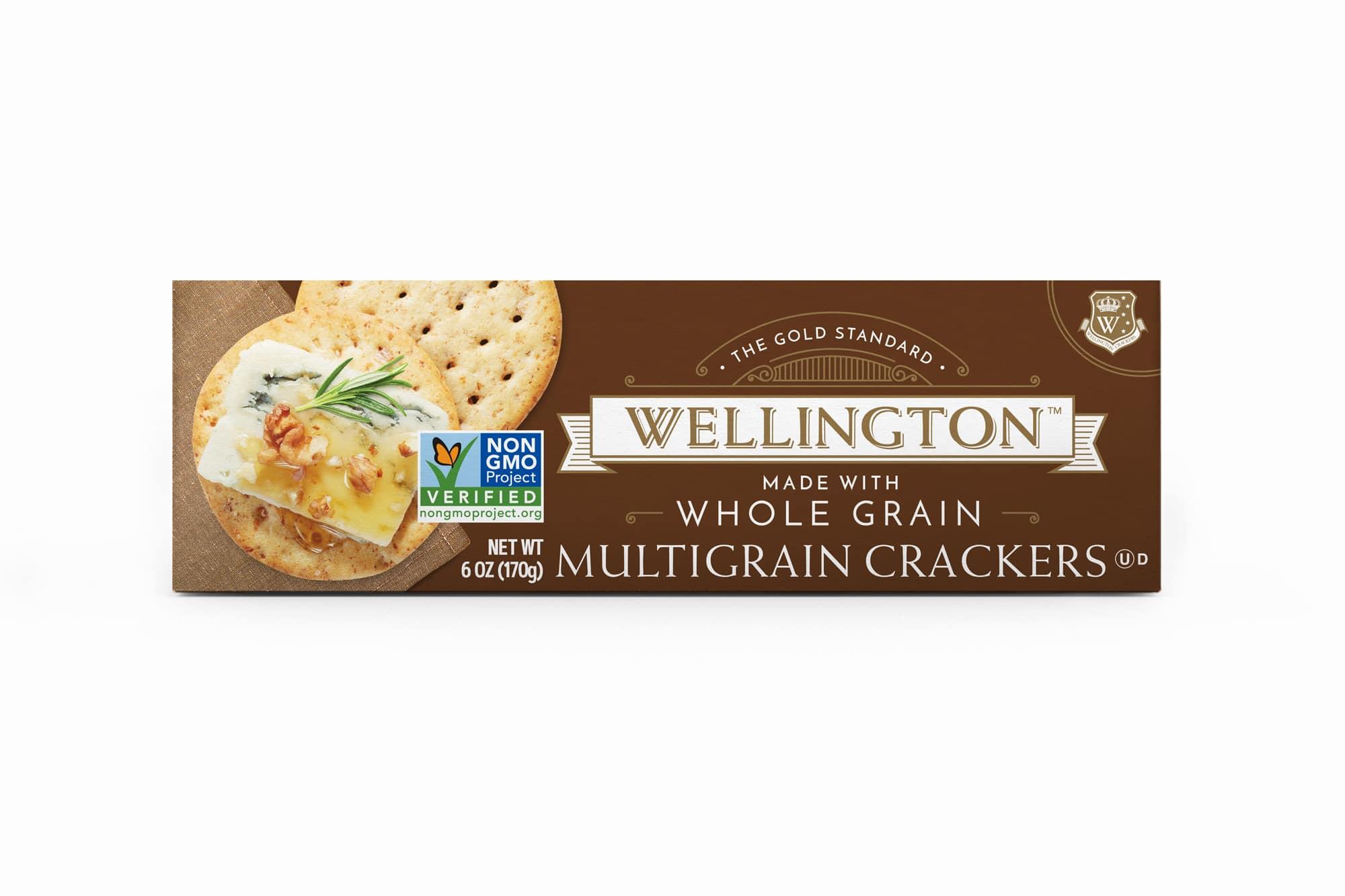 Whole Grain Multigrain Crackers