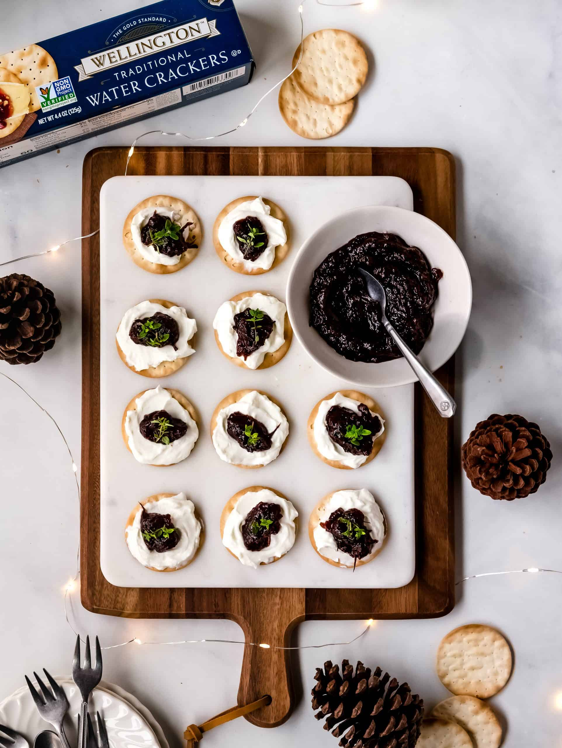 Whipped Brie with Fig Chutney