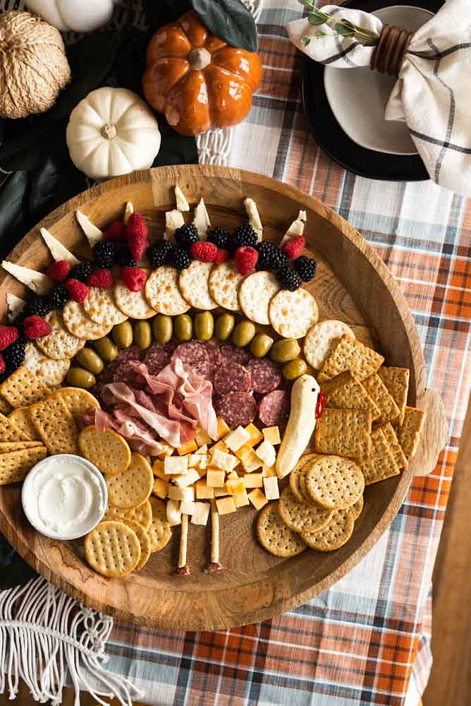Turkey Charcuterie Board
