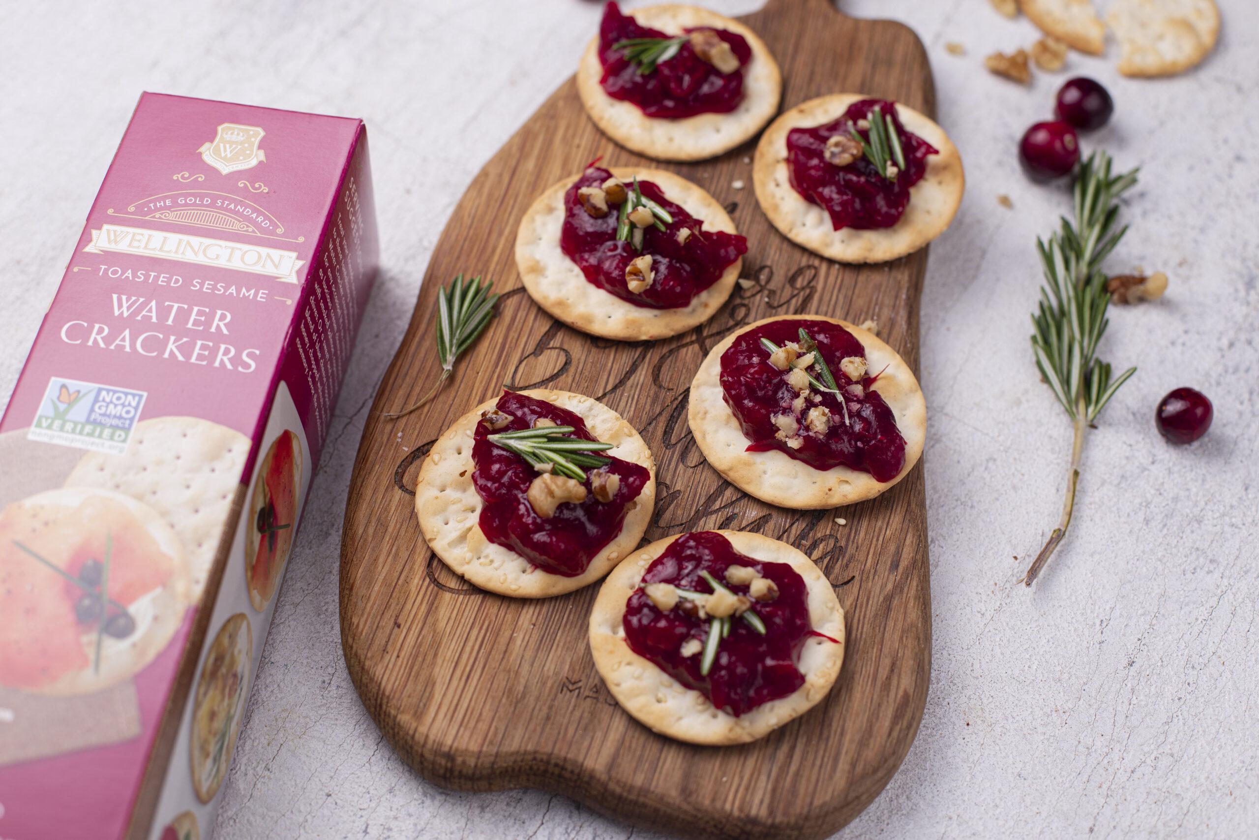 Cranberry Walnut Bites